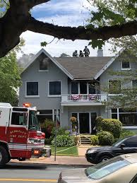 Pictures Of A House Woman Taken To Hospital Due To House Fire On Claremont Boulevard