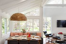 Clearstory Windows Plans Decor Lovely Banquette Seating Home Interior Design Contemporary Dining