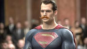 how much work was it to remove superman s mustache in justice league