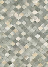 Cowhide Area Rugs Chalet Plank Cowhide Leather Area Rugs