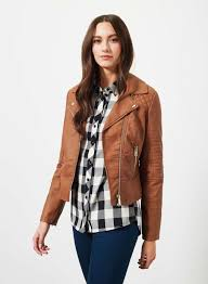womens motorcycle apparel tan faux leather ruby biker jacket jacket pinterest coats