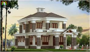 2500 square feet contemporary style elevation architecture kerala