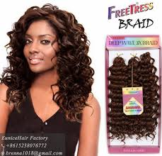 types of freetress braid hair boho curl braid freetress braids deep twist curly hair styled