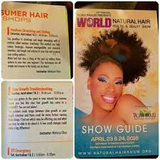 hairshow guide for hair styles aphropuphs at taliah waajid world natural hair show the hair