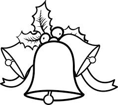 free printable christmas bells coloring kids