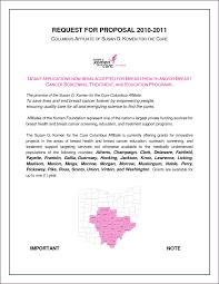 grant proposal cover letter sample best sample grant proposal