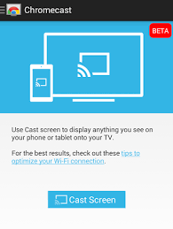 screen mirroring android chromecast adds support for android screen mirroring