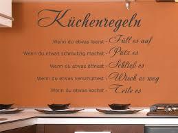sprüche essen wandtattoo küchenregeln essen küche wandaufkleber wanddeko