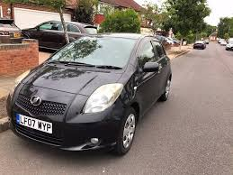 toyota yaris 07 toyota yaris 2007 auto 5 door car for sale in heathrow