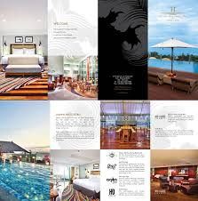 contoh desain brosur hotel referensi desain brosur promosi hotel bitebrands