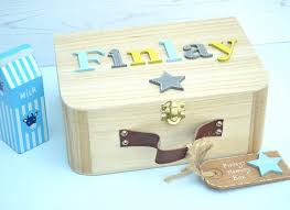 wooden baby keepsake box children s keepsake memory boxes personalised gifts