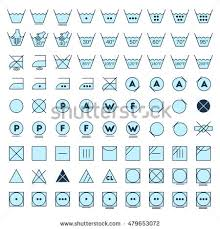 laundry line design laundry symbols line design washing ironing stock vector 2018