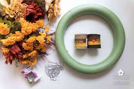 how to make wreaths how to make a simple wreath step by step in ten minutes