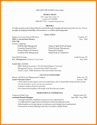 Mba Resume Example 100 Mba Resume Sample Hbs Mba Resume Sample Free Resume Well