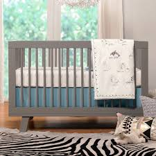 Hudson Convertible Crib Babyletto Hudson 3 In 1 Convertible Crib In Grey Jungle Theme