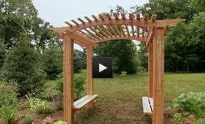 wedding arch blueprints how to build a garden arbor