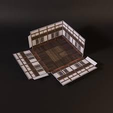 samurai castle towers released papierschnitzel