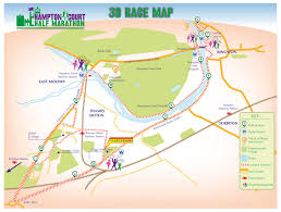 Map Of The Hamptons Course Map The Original Hampton Court Half Marathon