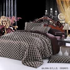 louis vuitton bedroom set custom louis vuitton bedding set king amp queen china supplier