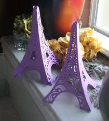 3d eiffel tower table centerpiece in shiny silver on etsy 8 50