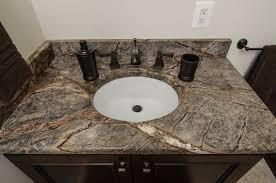 Bathroom Granite Vanity Top Tropic Brown Granite Bathroom Vanity Top Tropical Brown Granite