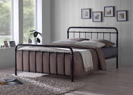 birlea shanghai 5ft kingsize nickel metal bed frame with crystals