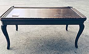 How To Repurpose Piano Benches by Coffee Table Mid Century Modern Slatted Coffee Table Bench Picked