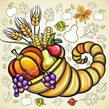 thanksgiving theme 12 stock vector dianka 7245949