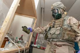 us military ordering troops in iraq to dust off chemical weapon