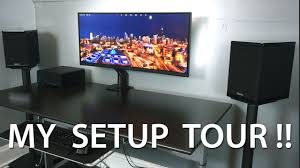 home theater room setup setup tour 2015 pc u0026 home theater youtube