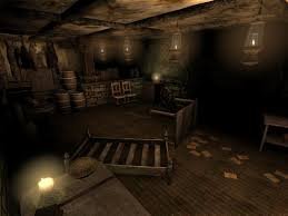 a room from the basement image the library 2 second passage mod