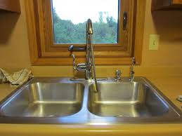 How To Run Plumbing The Hand Me Down House Moen Arbor Kitchen Faucet