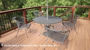 St Louis Patio Furniture by Decks Railing Composite
