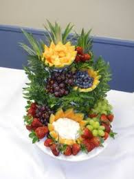 fruit displays tablescape cascading fruit display pinteres