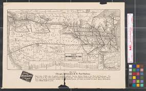 L Map Chicago by Chicago Milwaukee U0026 St Paul Railway To Puget Sound Electrified