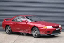 nissan skyline sold nissan skyline r32 gt r coupe 1 of 100 australian delivered