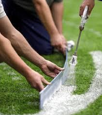 crews hard at work preparing stadium for super bowl