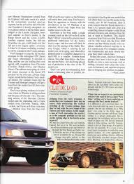 Vintage Ford Truck Advertisements - vintage reviews automobile magazine 1997 new car issue u2013 ford