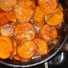 southern candied sweet potatoes recipe side dishes with white