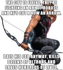 Hawkeye Meme - good job hawkeye meme on imgur