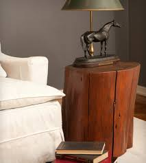 cypress tree stump side table home furniture patron design