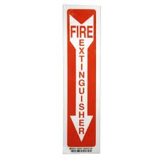 fire extinguisher symbol floor plan rectangular plastic fire extinguisher sign pse 0012 the home depot