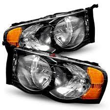 02 dodge ram headlights dash z racing lighting aftermarket lights headlights