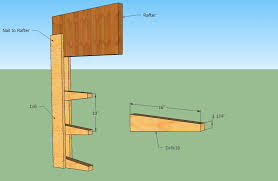 Simple Wood Storage Shelf Plans by Simple Cheap Lumber Rack