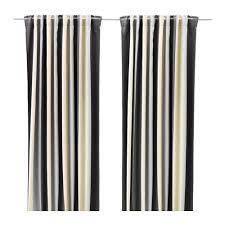 Blackout Curtains Gray Praktlilja Blackout Curtains 1 Pair Ikea
