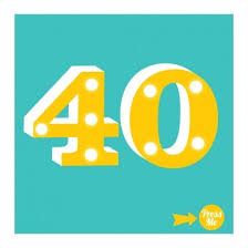 40 showtime light up age 40 birthday card 5 99 a great range