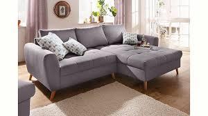 home affair sofa home affaire polsterecke jordsand mit feiner steppung und