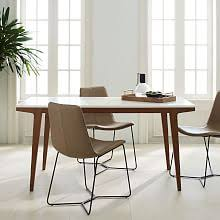 modern circular dining table dining tables west elm