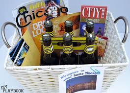 chicago gift baskets chicago themed gift basket diy playbook