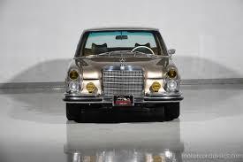 mercedes classic 1968 mercedes benz 300sel motorcar classics exotic and classic